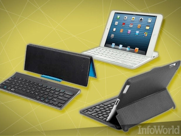 Bluetooth keyboard for iPad, iPhone, and Android