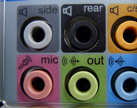 Analog surround sound