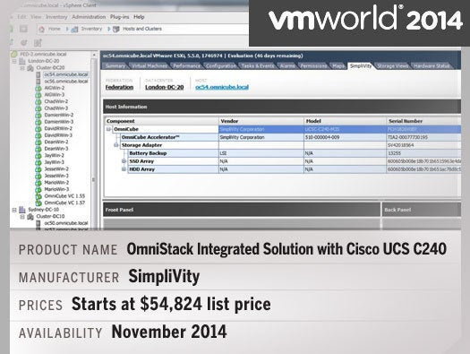 OmniStack Integrated Solution with Cisco UCS C240