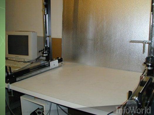 CNC hot-wire foam-cutting machine