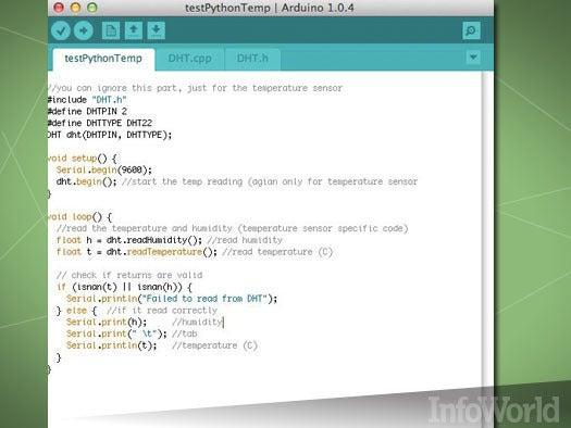 Logging data in Python to MySQL on the Arduino