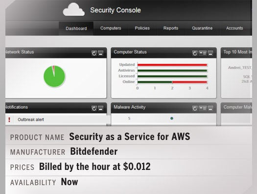 Security as a Service for AWS