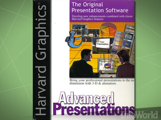 Presentations: Harvard Graphics