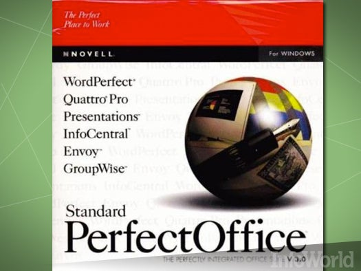 Integrated suites: Novell PerfectOffice