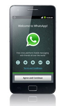 WhatsApp and the spoken word