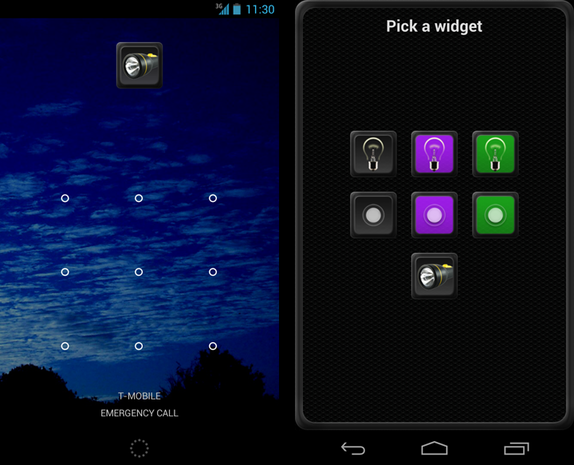 Tiny Flashlight screenshot