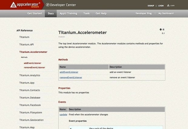 Appcelerator Titanium mobile platform