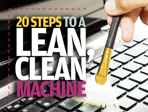 20 steps to a lean, clean machine