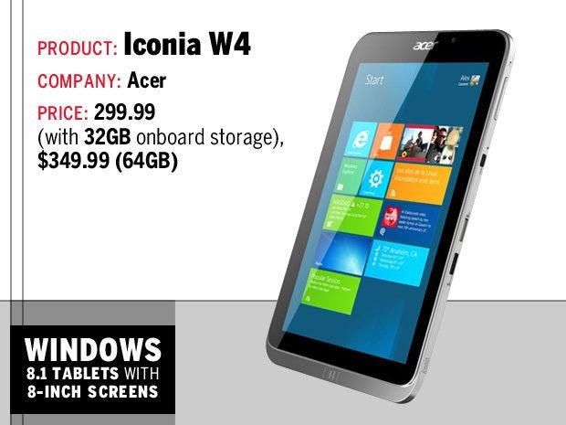 Iconia W4