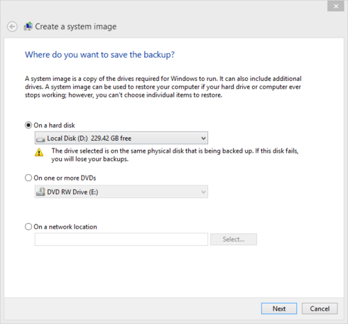 Reinstalling Windows 8.1 from the second partition