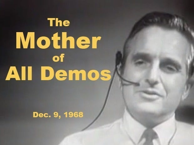 Douglas Engelbart at 1968 demo