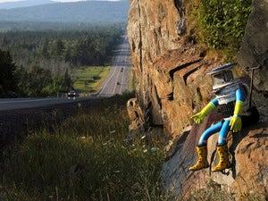 Meet HitchBOT, the robot that's thumbing its way across Canada