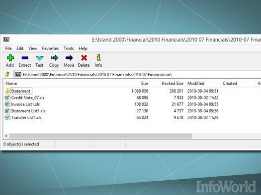 Top free desktop productivity tool: 7-Zip