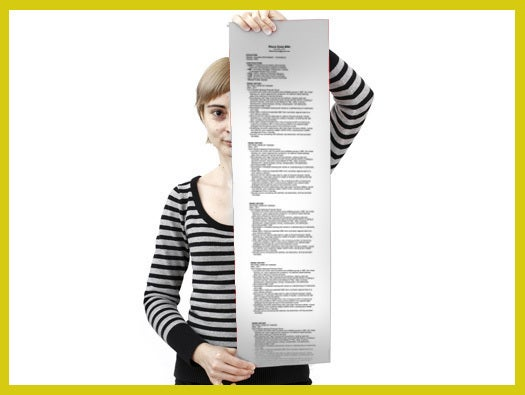 Make Your Resume as Long as it Needs to Be