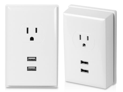 Acoustic Research USB Wall Plate Charger