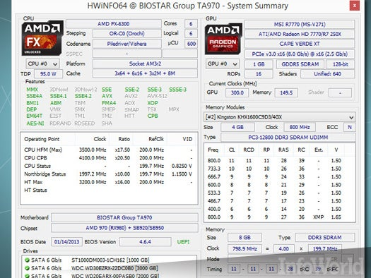 Top free desktop system tool: HWiNFO