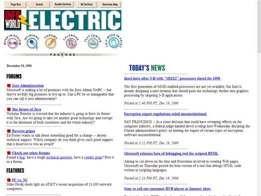 InfoWorld.com circa 1996