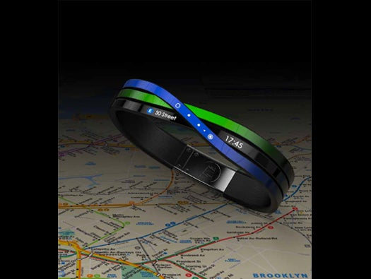 Subway Navigation Bracelet