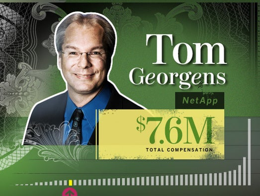 Tom Georgens, NetApp CEO and president