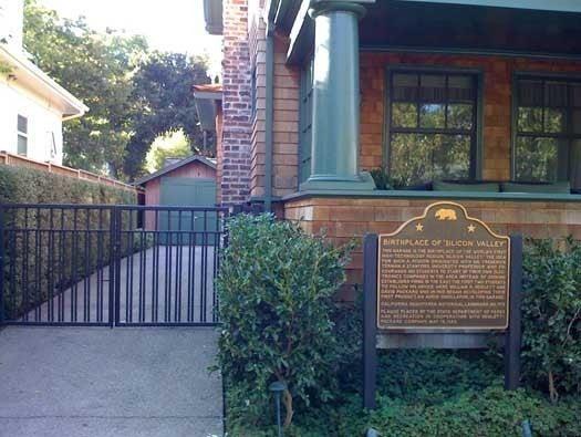 Birthplace of Hewlett-Packard