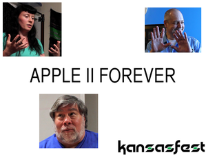 Who goes to an Apple II convention in 2013?