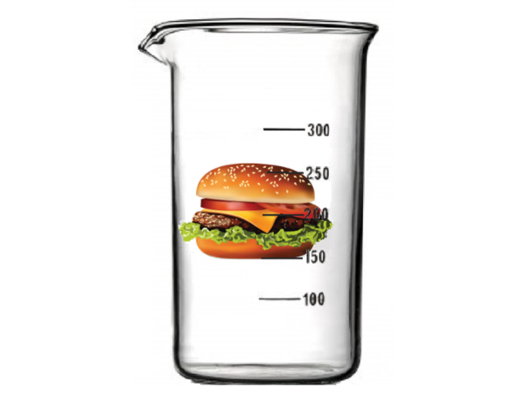 test tube hamburger