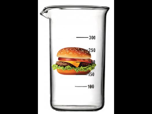 test tube hamburger