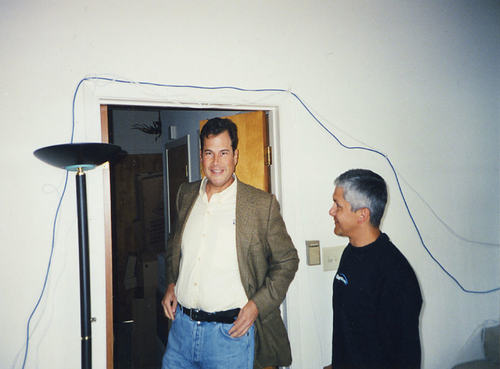 Marc Benioff at Salesforce.com's original headquarters