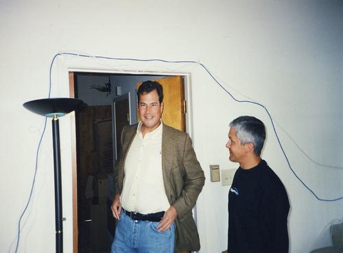 Marc Benioff at Salesforce.com's original headquarters