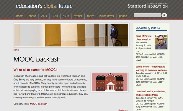 MOOCs for techies