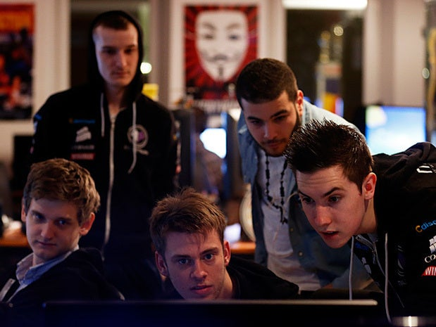 Millennium eSport professional gamers