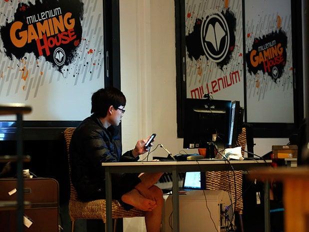 Millennium eSport professional gamer