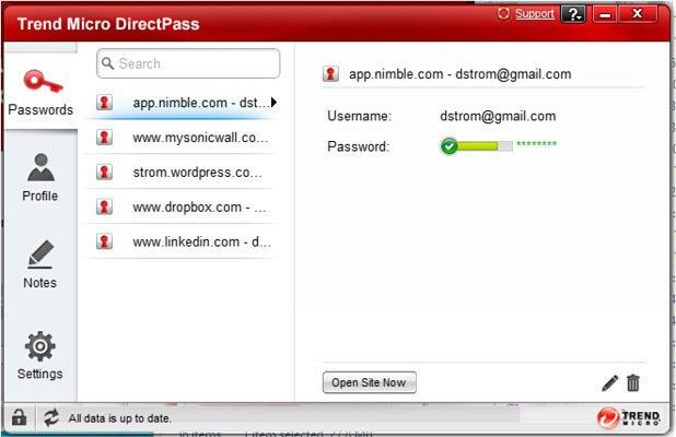 TrendMicro DirectPass