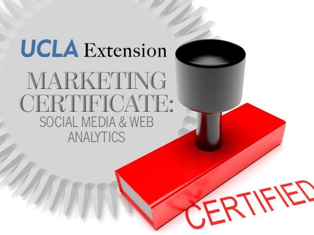 UCLA Marketing Certificate: Social Media & Web Analytics