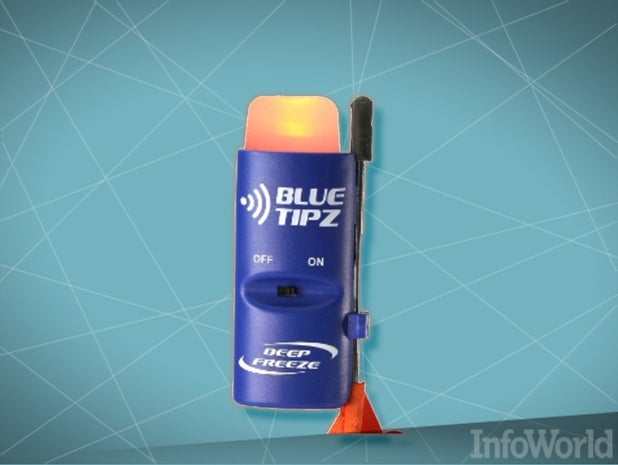 BlueTipz ice-fishing transmitter