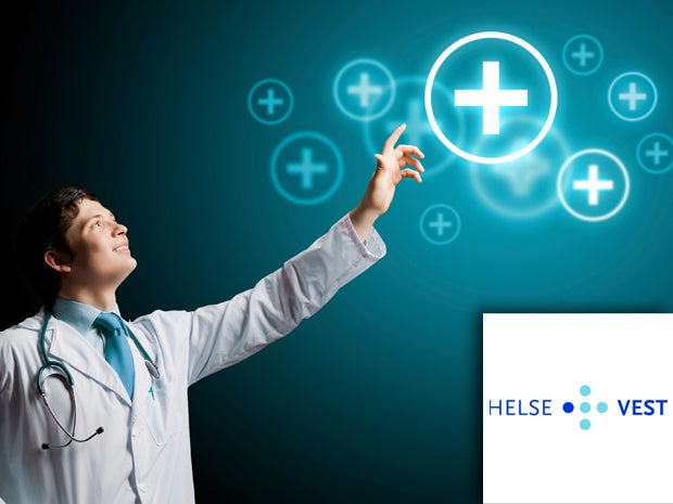 Helse Vest Collects, Visualizes and Shares Medical Data