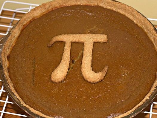 Make a pi-themed pie