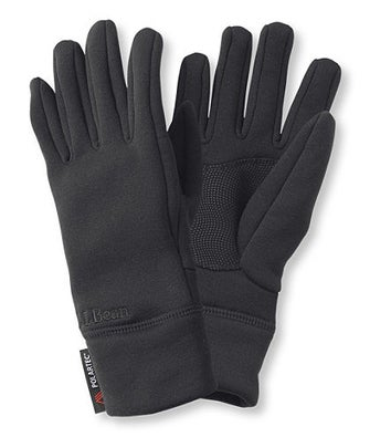 L.L. Bean Touchscreen Multisport Power Stretch Gloves