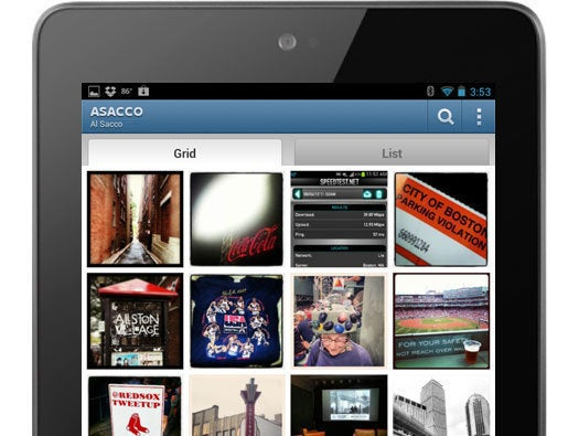 Instagram for Android Tablets