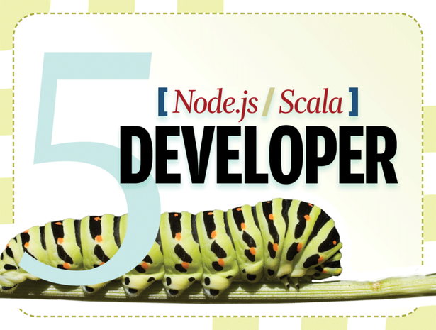 Node.js developer, Scala developer