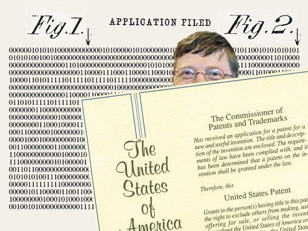 Microsoft patents ones and zeros