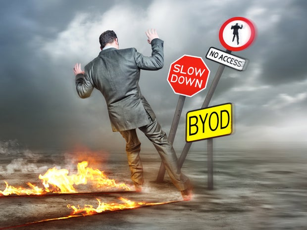 Don't Rush Into BYOD