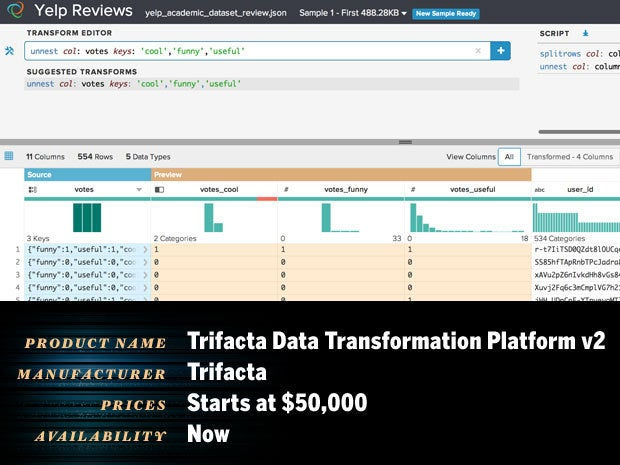 Trifacta Data Transformation Platform v2