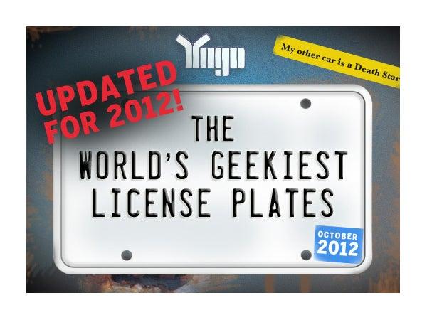 Customized License Plates >> World's geekiest license plates (2012 version)   ITworld