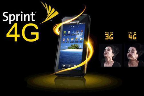 Sprint 4G Tablet