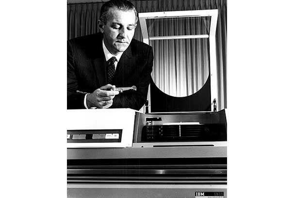 IBM 1311 hard drive