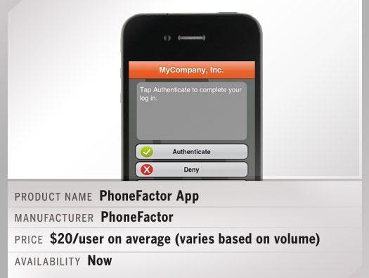 PhoneFactor App