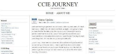 CCIE JOURNEY