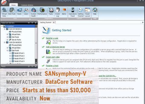 DataCore\'s SANsymphony-V