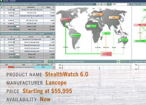 Lancope's StealthWatch 6.0
